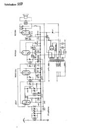 Schaltplan Telefunken 557