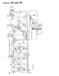 Cirquit Diagram Telefunken 567