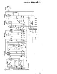 Schaltplan Telefunken 568