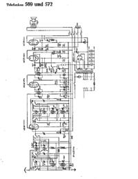 Cirquit diagramu Telefunken 569