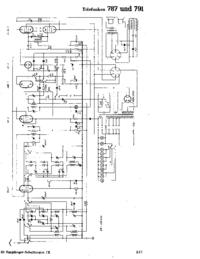 Schéma cirquit Telefunken 787
