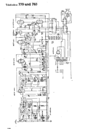 Cirquit Diagram Telefunken 783