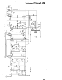 Cirquit Diagram Telefunken 576