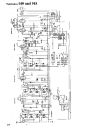 Cirquit Diagram Telefunken 640