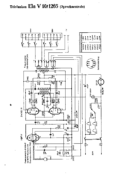 Cirquit Diagram Telefunken Ela V10 1065