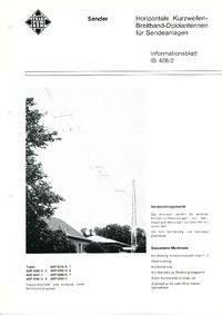 folha de dados Telefunken ADP 0292/5, 6