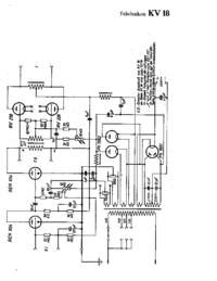 Cirquit Diagram Telefunken KV18