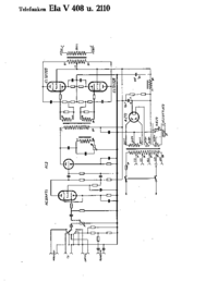 Cirquit Diagram Telefunken Ela V408