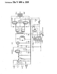 Cirquit Diagram Telefunken Ela V2110