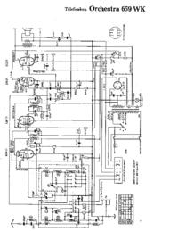 Cirquit diagramu Telefunken Orchestra 659 WK