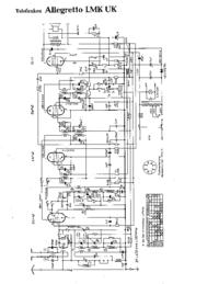 Cirquit Diagrama Telefunken Allegretto LMK UK