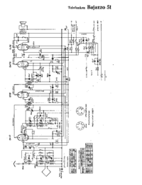 Cirquit Diagram Telefunken Bajazzo 51