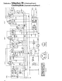 Cirquit Diagramma Telefunken München IB