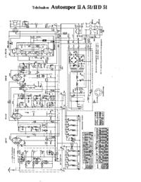 Schaltplan Telefunken Autosuper IIA 51