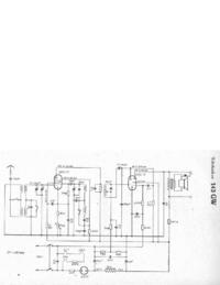 Schéma cirquit Telefunken 143 GW