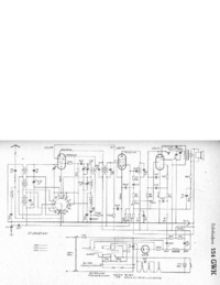 Cirquit Diagram Telefunken 154 GWK