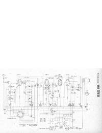 Diagrama cirquit Telefunken 165 GWK