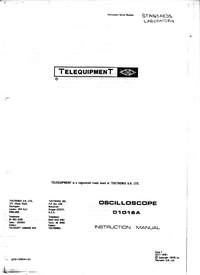 Telequipment-379-Manual-Page-1-Picture
