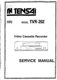 Bedienungsanleitung Tensai TVR-202