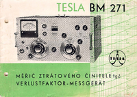 Servicio y Manual del usuario Tesla BM 271