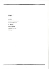 Service Manual Thandar TG 105