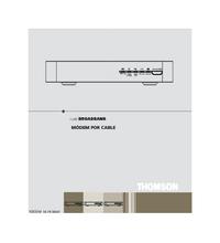 manuel de réparation Thomson TCM 420