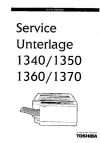 Service Manual Toshiba 1340