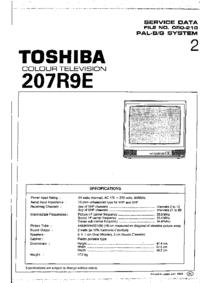 Manual de servicio Toshiba 207R9E