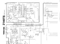 Cirquit Diagram Toshiba 2140TS