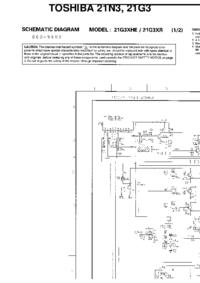 Cirquit Diagrama Toshiba 21G3