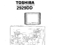 Cirquit Diagram Toshiba 2929DD