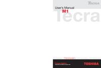 Instrukcja serwisowa Toshiba M1
