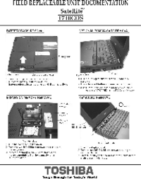 Service Manual Toshiba Satellite 1710CDS