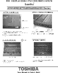 Manual de servicio Toshiba Satellite 4100 Series