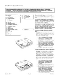 Руководство по техническому обслуживанию Toshiba Tecra 750 Series
