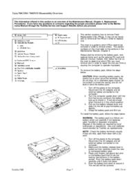 Руководство по техническому обслуживанию Toshiba Tecra 780DVD