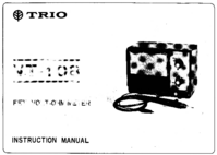 Servicio y Manual del usuario Trio VT-108