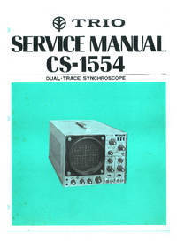 Service Manual Trio CS-1554