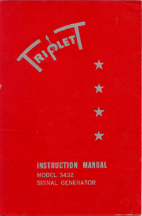 Manual del usuario, Diagrama cirquit Triplett 3432