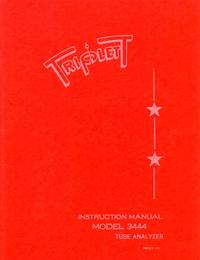 Servizio e manuale utente Triplett 3444