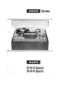 Manual de serviço Uher 24 Hifi Spezial