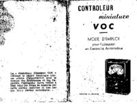 User Manual VOC Controleur Miniature