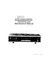 Service and User Manual Valhalla 2500