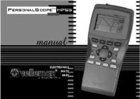 User Manual with schematics Velleman HHPS5