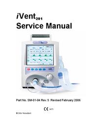 Manuale di servizio VersaMed i Vent201