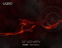 User Manual Vizio E320ME