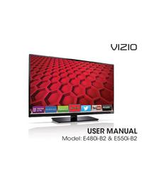 Manual del usuario Vizio E480i-B2