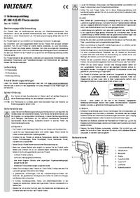 Manuel de l'utilisateur Voltcraft IR 500-12S