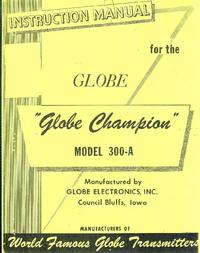 Service et Manuel de l'utilisateur WRL Globe Champion 300-A