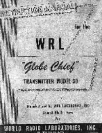 Service and User Manual WRL Globe Chief 90